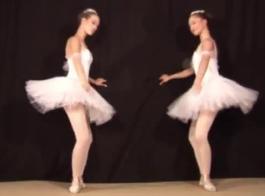 راقصة الباليه الأبرياء استغل من قبل الديك الوحش الكبير