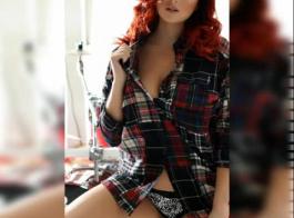 تم التعاقد مع فتاة ساخنة لتسلية العديد من الرجال ، بما في ذلك جارتها التي هي بالفعل في حالة حب