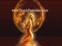 الساخنة الألمانية الهولندية وقحة اللعب بوسها