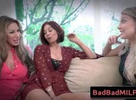 تقضي لورا بنتلي وقتًا رائعًا في ممارسة الجنس مع الثلاثي مع اثنين من اللاعبين المتحمسين للغاية الذين قابلتهم للتو