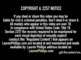 لورين فيليبس هو مجرفة جبهة مورو الإسلامية التي يحب ممارسة الجنس في الصباح الباكر