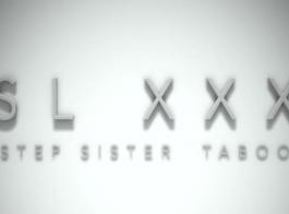 الأخت الخطوة كاسيدي كلاين هي قرنية للغاية وتريد ممارسة الجنس مع رجلها الذي التقت به عبر الإنترنت