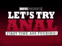 خجول هالي جين مارس الجنس في الحمار من قبل غريب